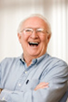 Laughing Elderly Gentleman